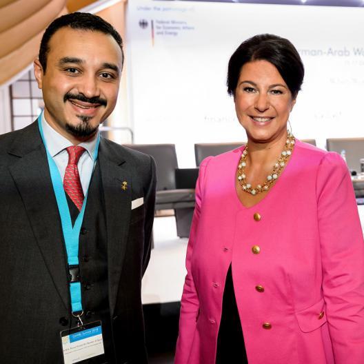 181016ga 1122 - GAWBL Summit 2018 - HRH Prince Al Saud  -  Dr. Gabi Kratochwil   01